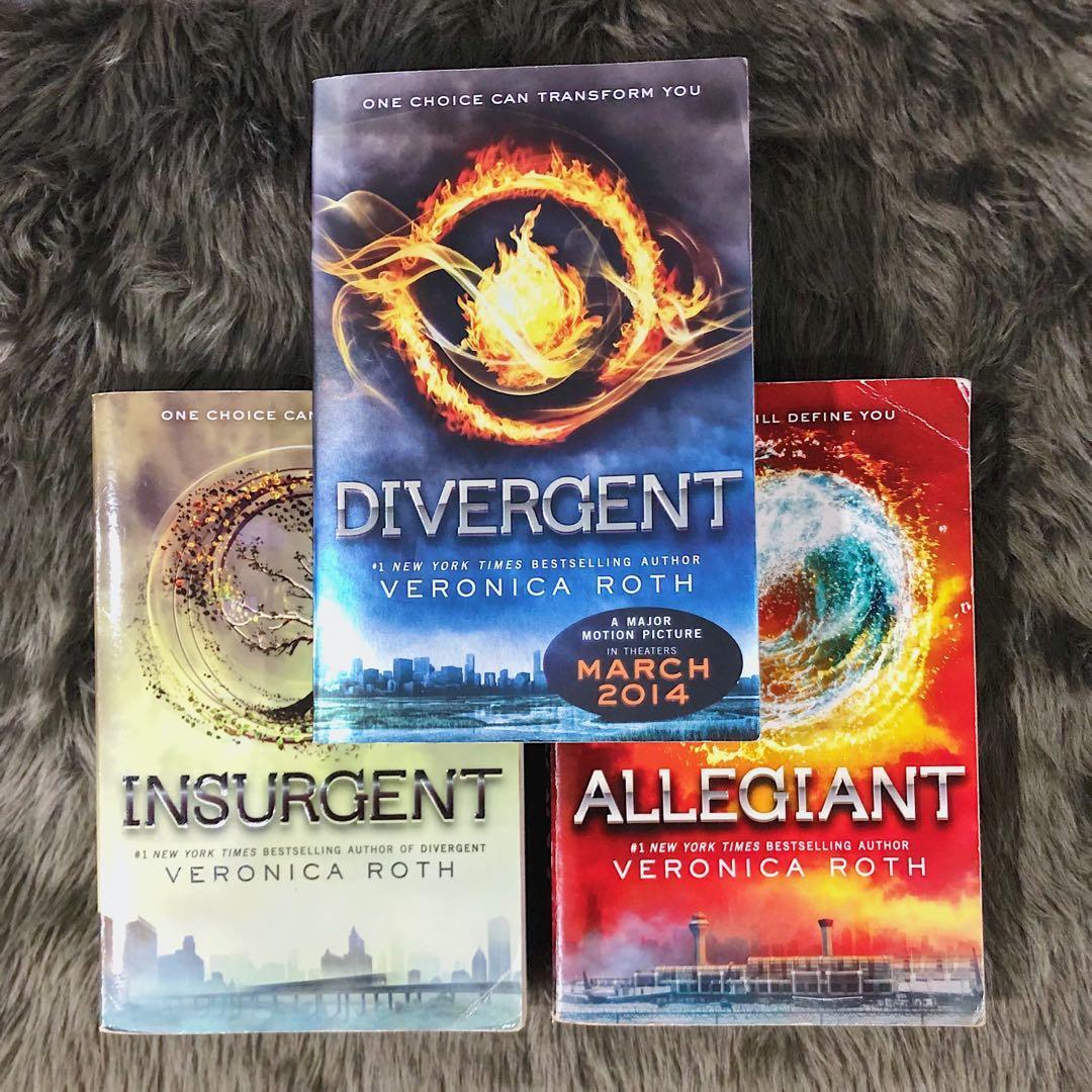 Divergent Series by Veronica Roth (Divergent, Insurgent, Allegiant) - YA Dystopian Books
