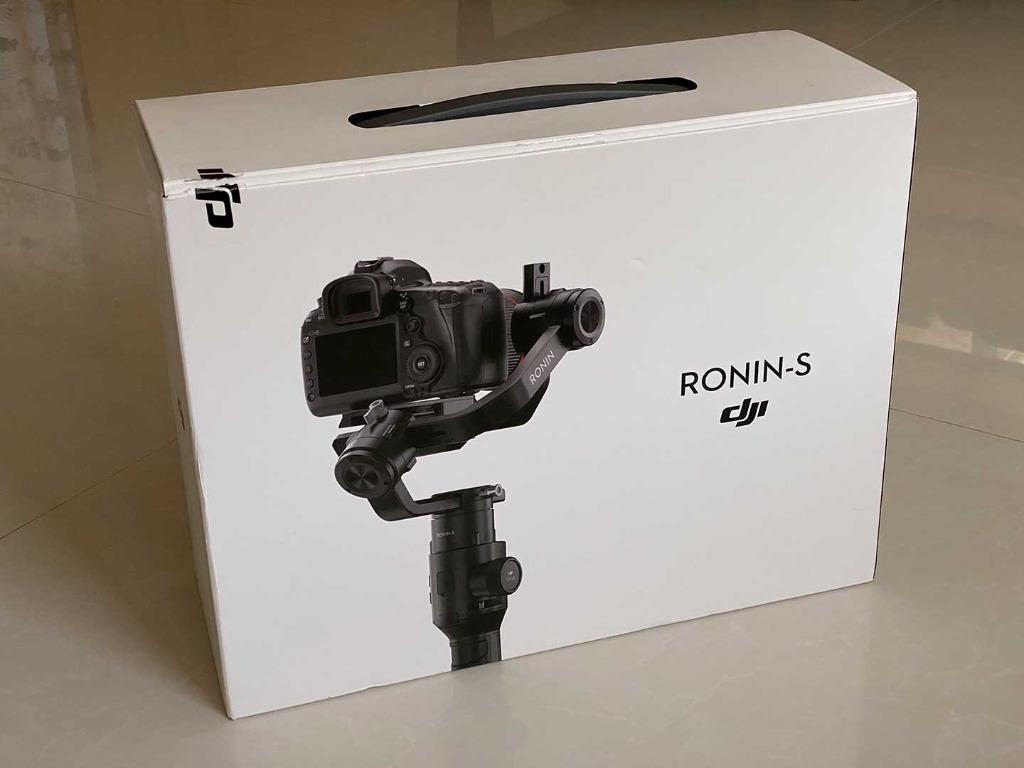 DJI Ronin S Rarely Used