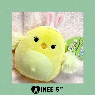 """Easter Aimee Squishmallows Chick 5"""" Plush Spring 2021"""