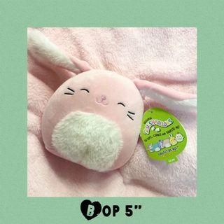 """Easter Bop Squishmallows Bunny 5"""" Plush Spring 2021"""