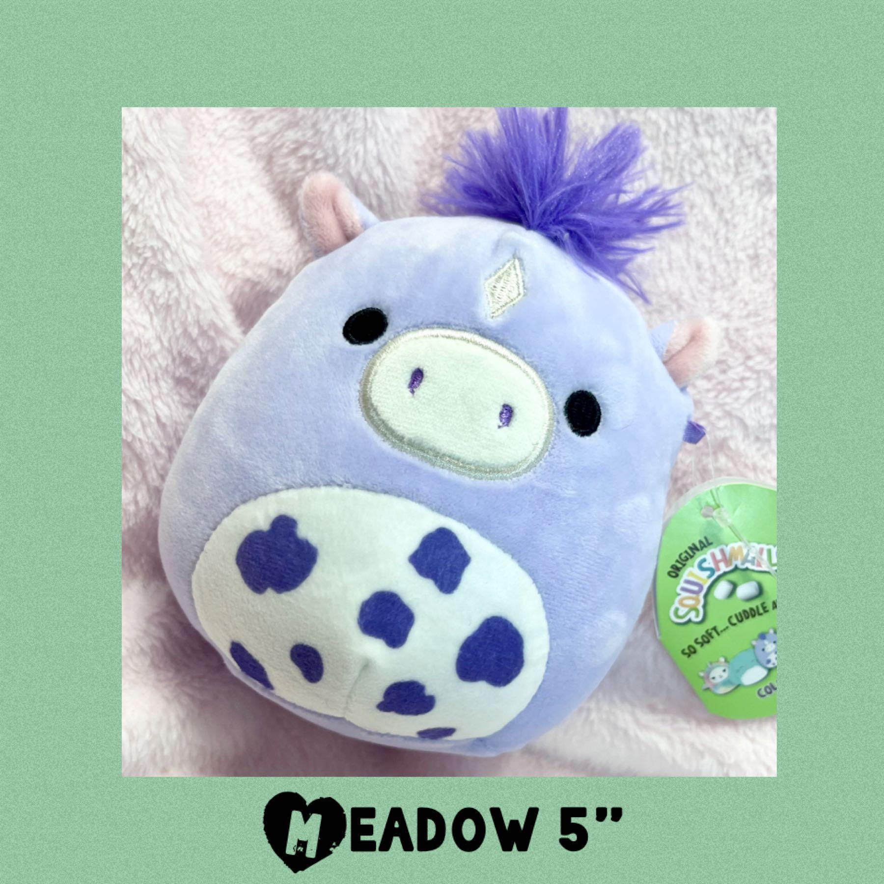 """Easter Meadow Squishmallows Horse 5"""" Plush"""