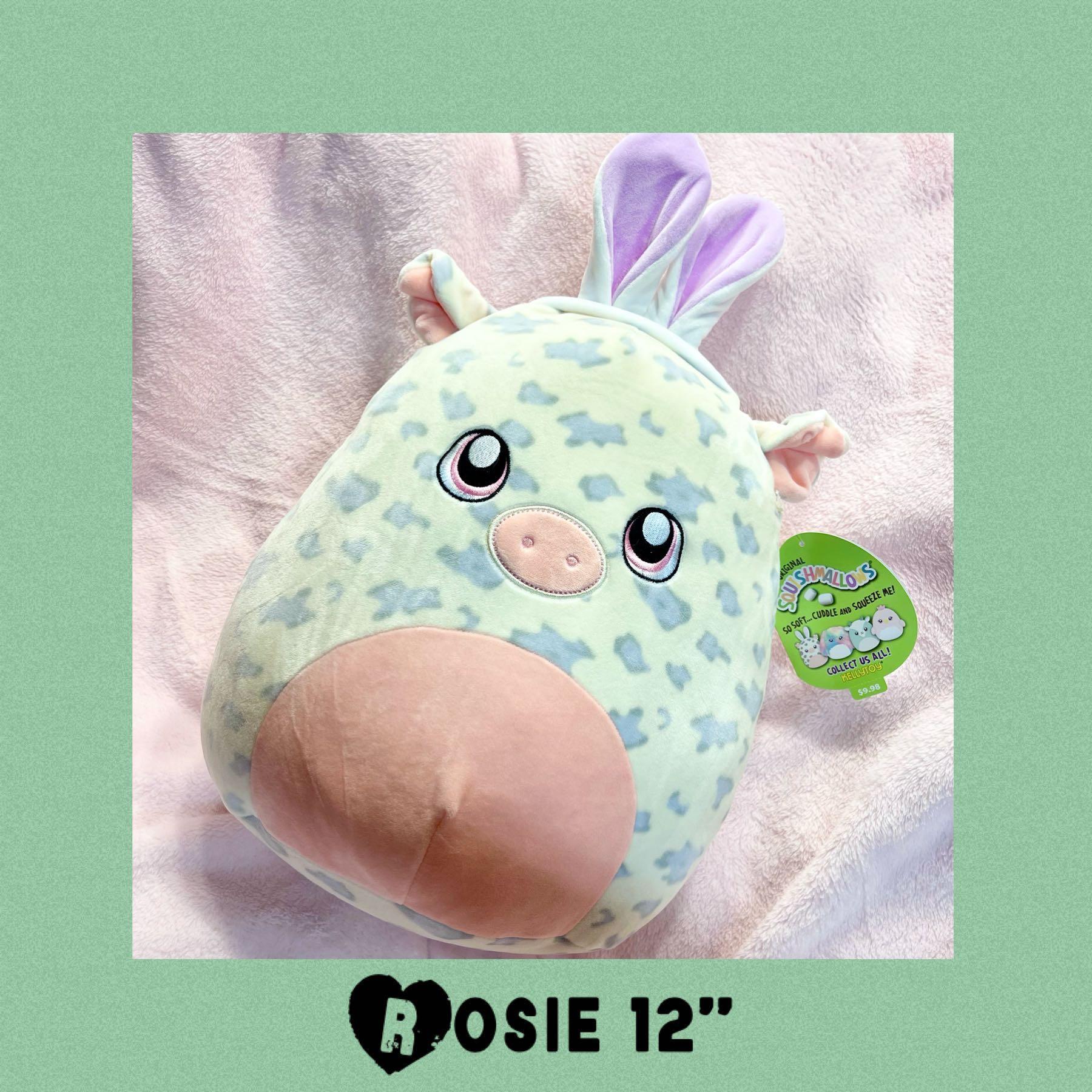"Easter Pig Squishmallows Rosie 12"" Plush"