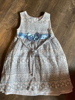 Girls blue dress 5yo