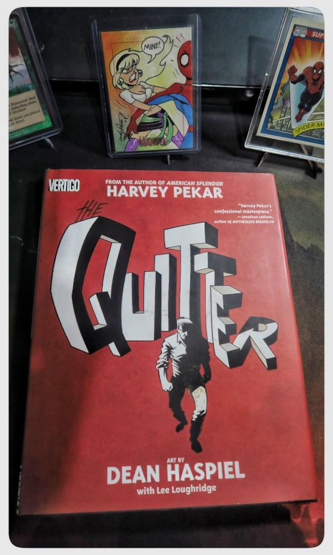 Graphic Novel The Quitter by Harvey Pekar