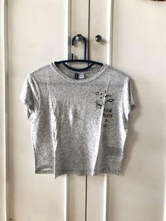 gray space tshirt