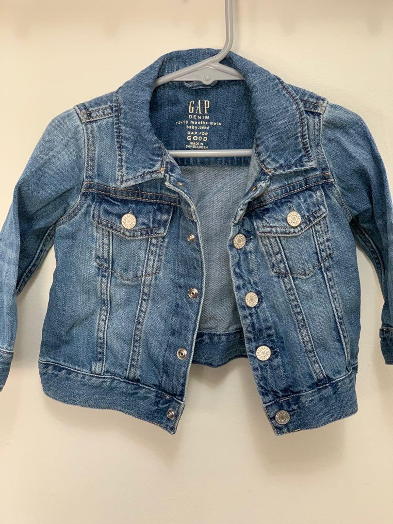 GUC BabyGap infant jean jacket sz 12-18m