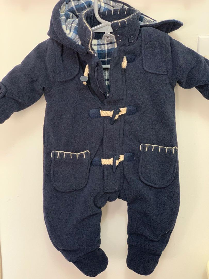 GUC Tots Fifth Avenue baby boys snowsuit sz 3m