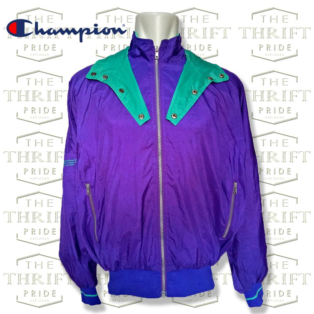 Jaket Vintage Champion not gap , uniqlo , dickies , or pancoat