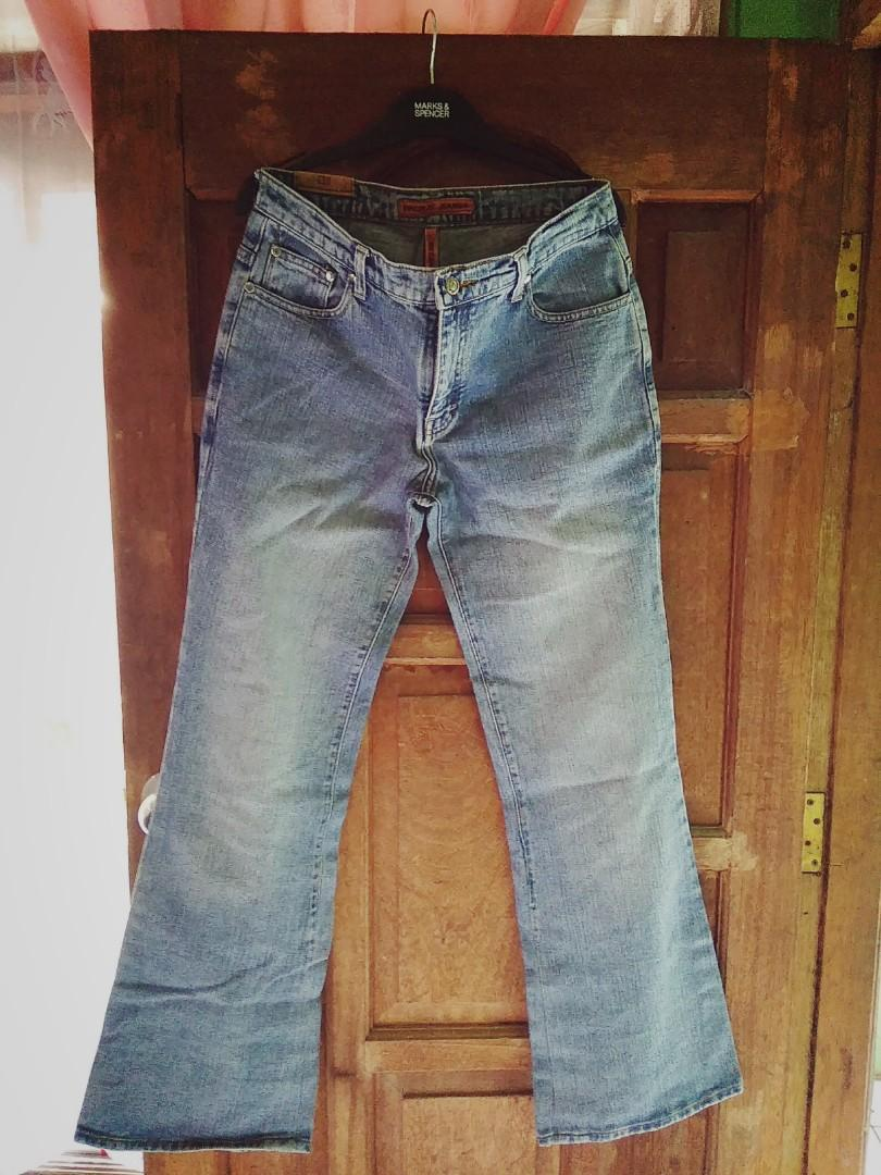 jeans pria xl