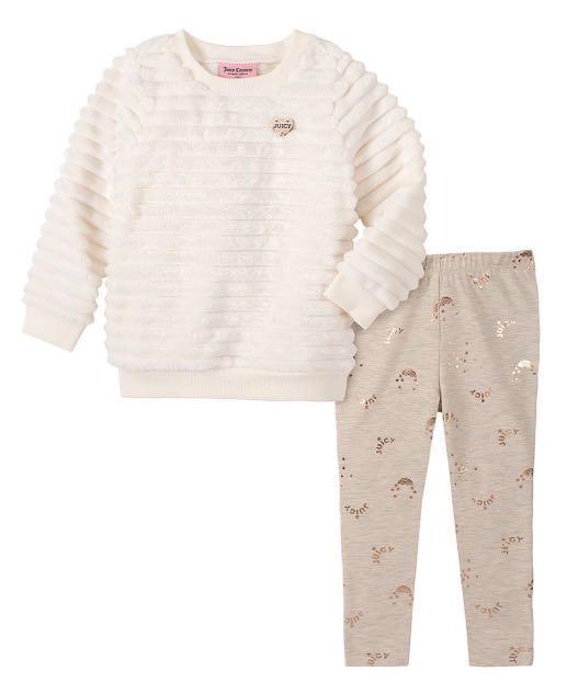 Juicy couture女童套裝2件組