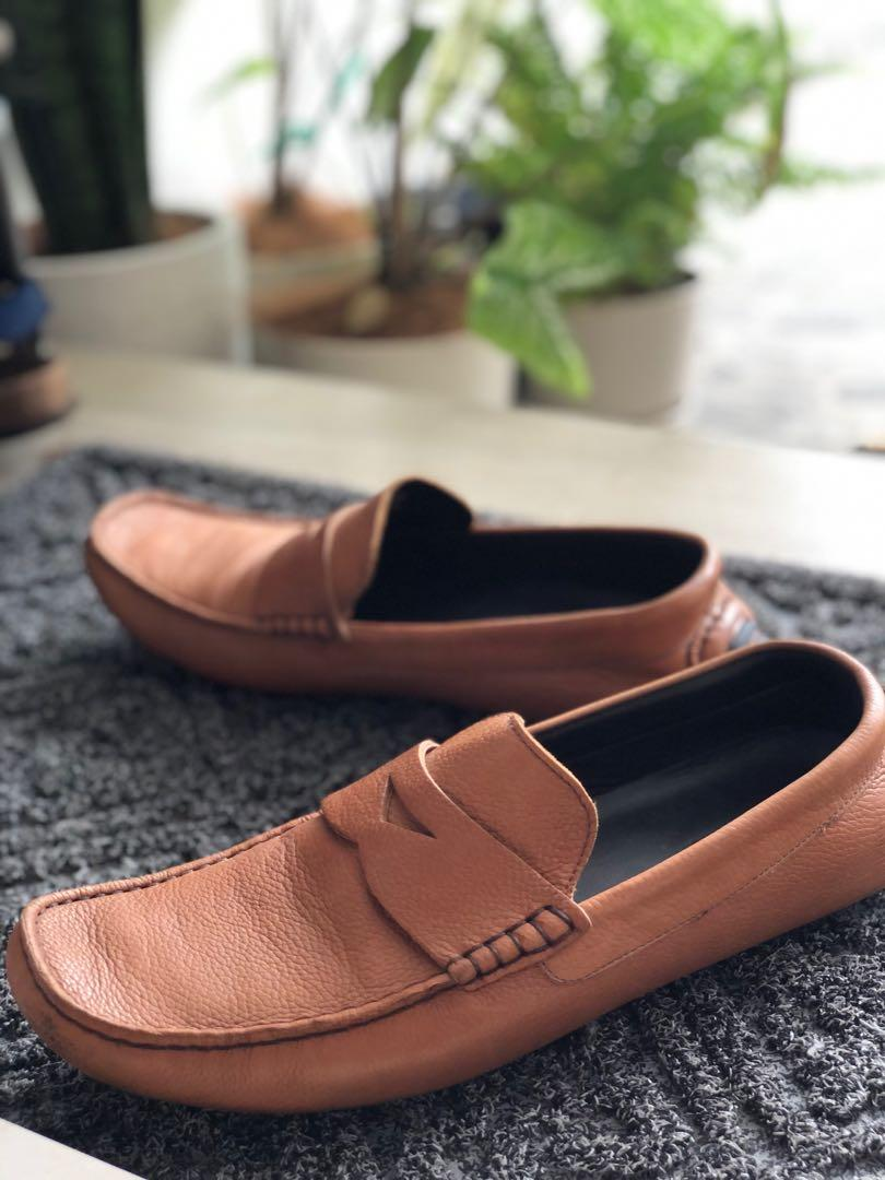 Kontatto Brown Leather Shoes seperti Tods