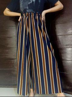 #salefeb Kulot Stripe / celana kulot / celana panjang