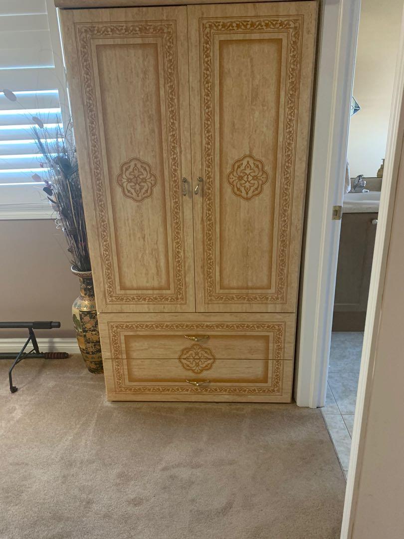 Large wardrobe dresser
