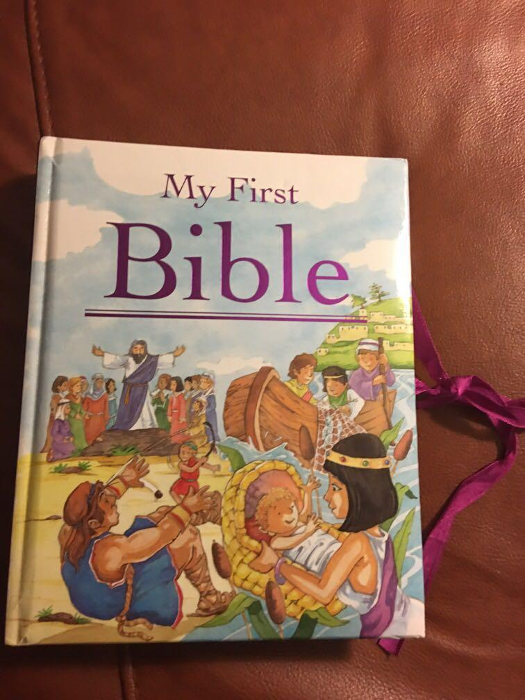 My first Bible, like new