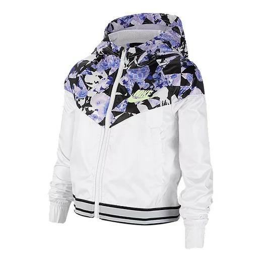 New) Girls size LG Nike windrunner jacket