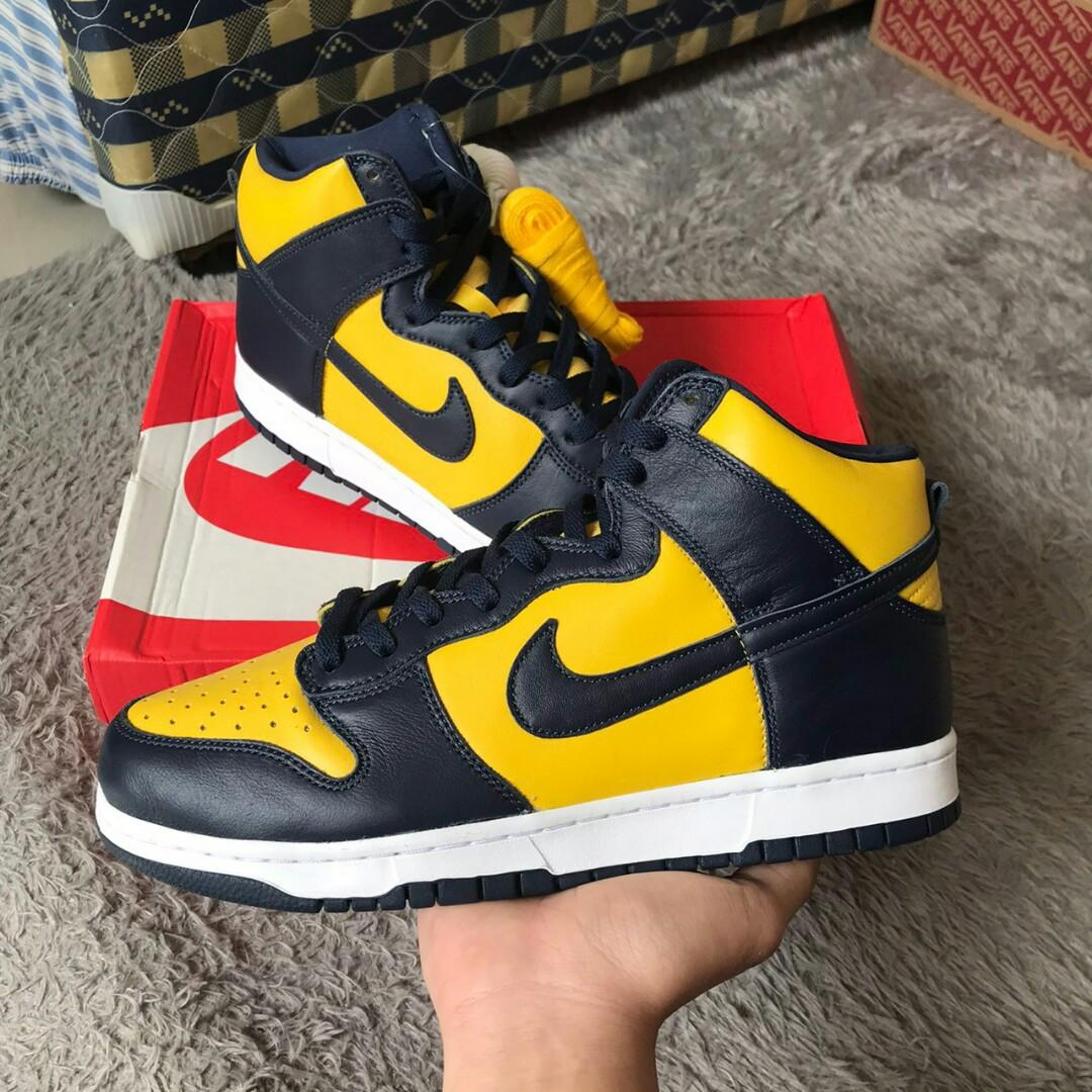 Nike Dunk High SP Michigan