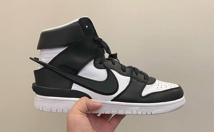 Nike Dunk X Ambush High Black