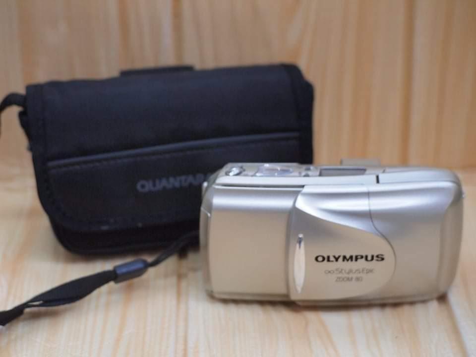 Olympus Stylus Epic Zoom 80 DLX Point & Shoot Film Camera