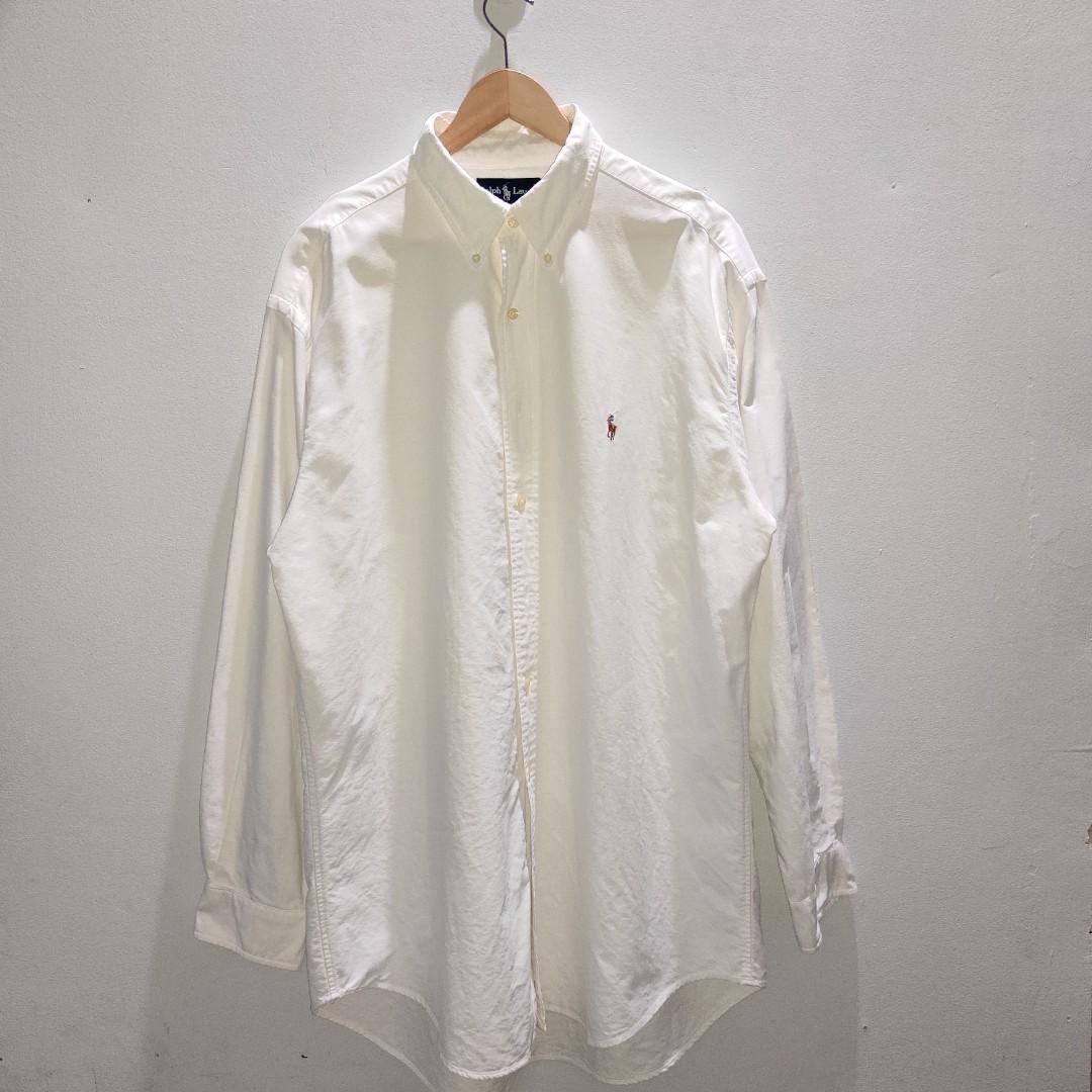 Polo Ralph Lauren Kemeja Putih big size