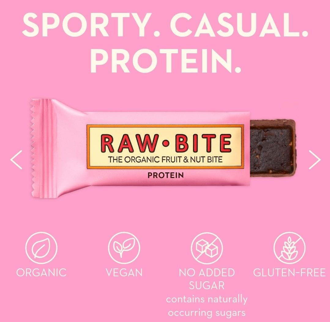 Raw Bite Fruit and Nut protein bar