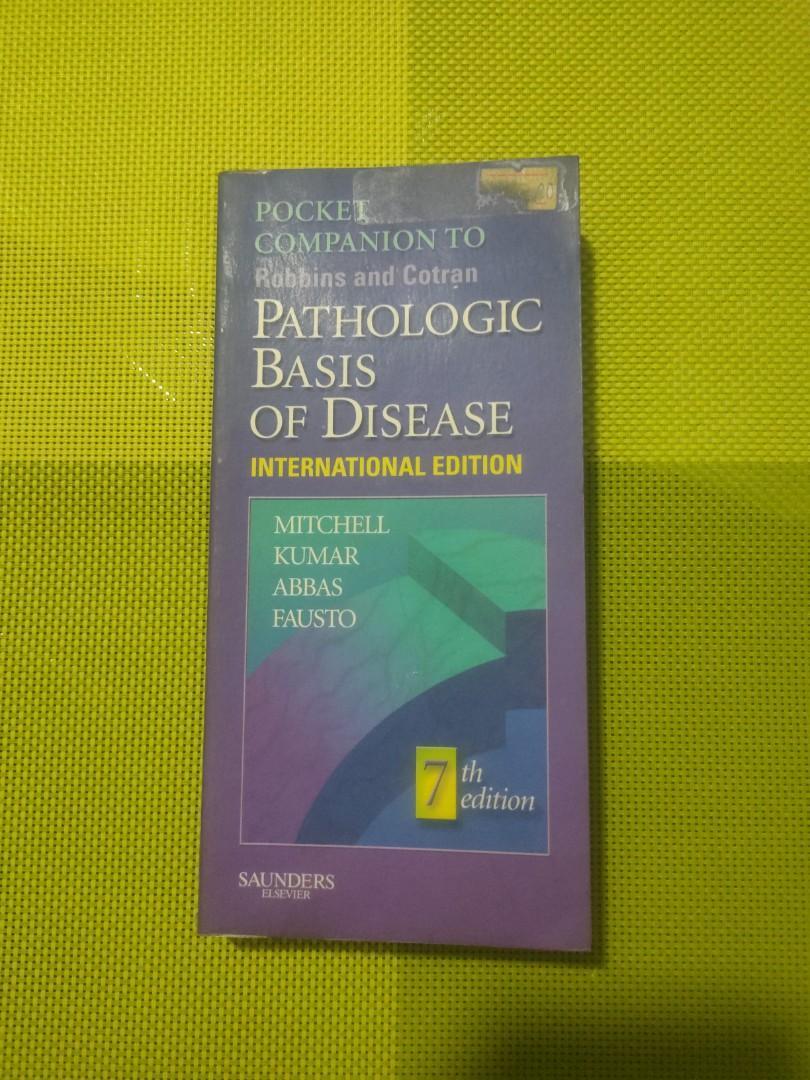 Robbins Pathologic Basis of Disease 7e Pocket Companion