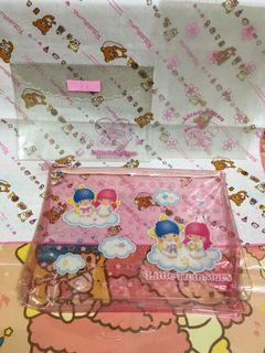 日本Sanrio kikilala 三麗鷗 雙子星 資料夾 二手