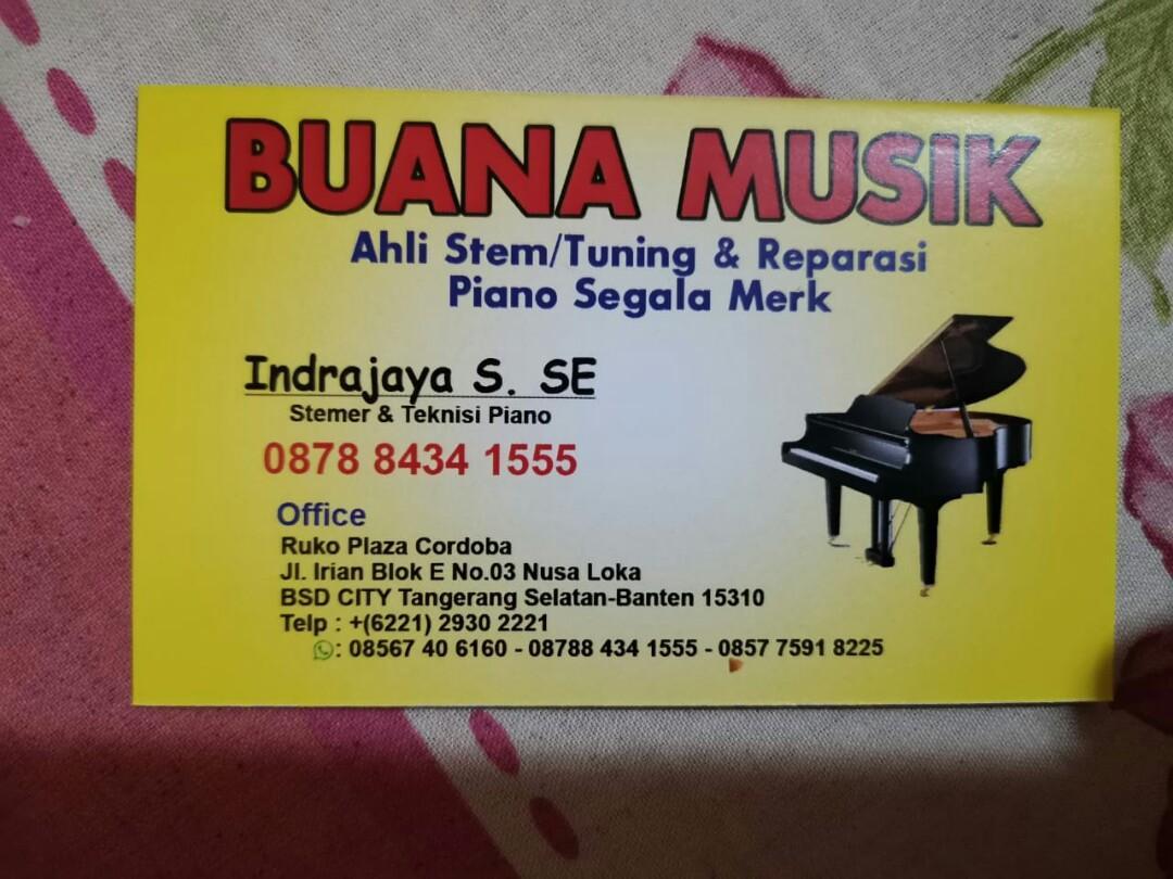 Service, Stem dan Jasa angkut Piano