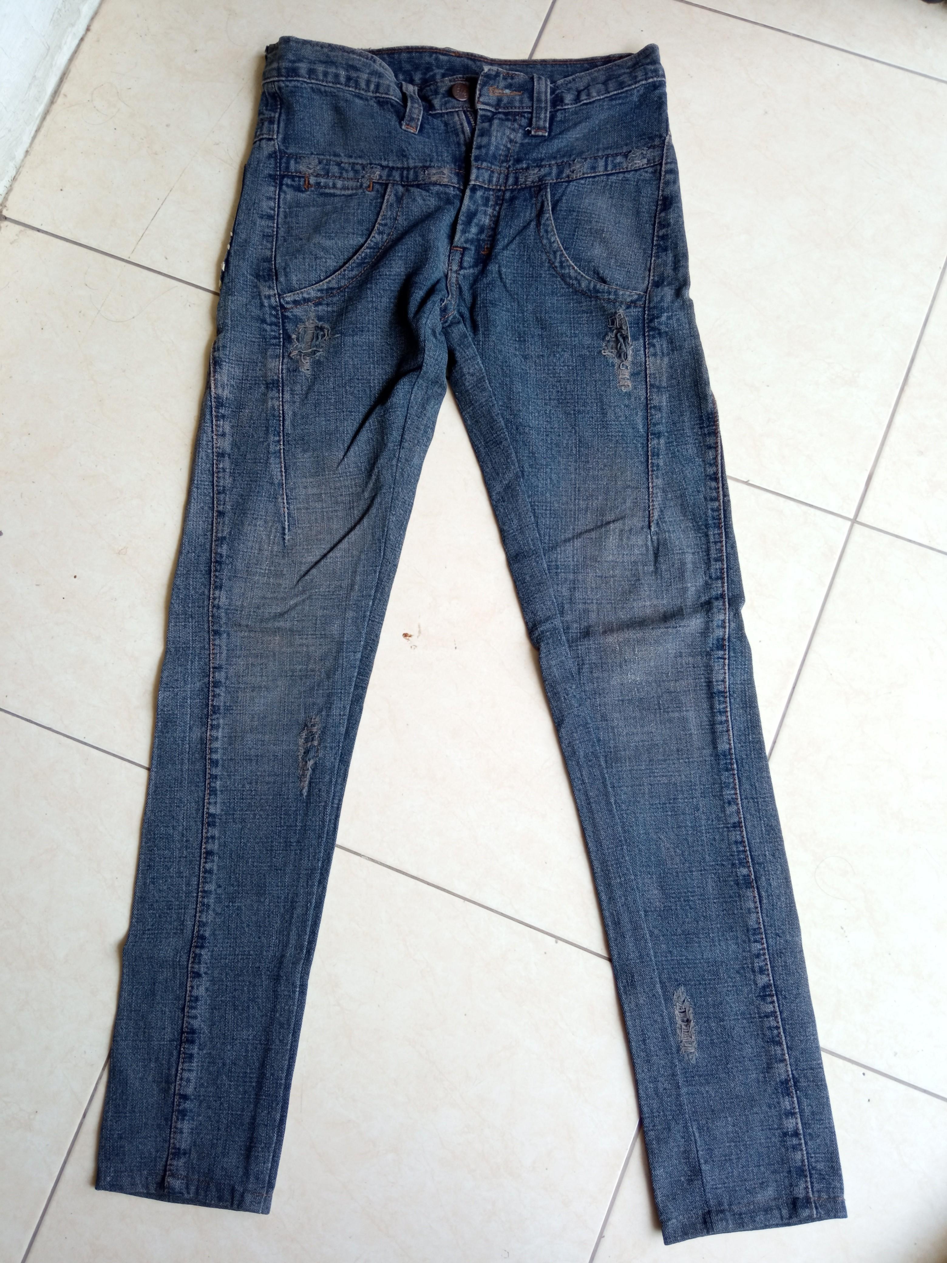 Skinny jeans points