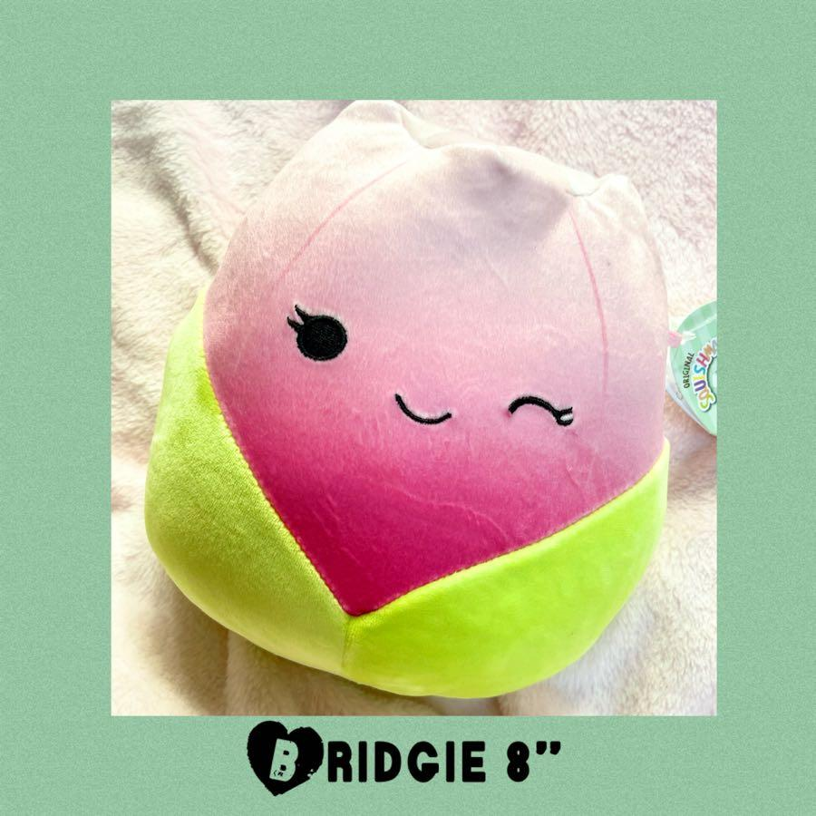 "Spring Bridgie Squishmallows Tulip 8"" Plush"