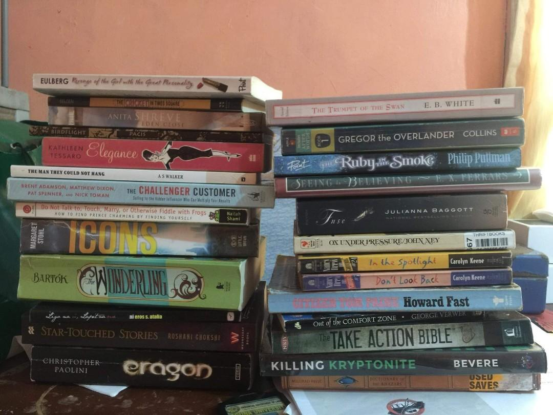 TAKE ALL 26 BOOKS @1300 PESOS ONLY