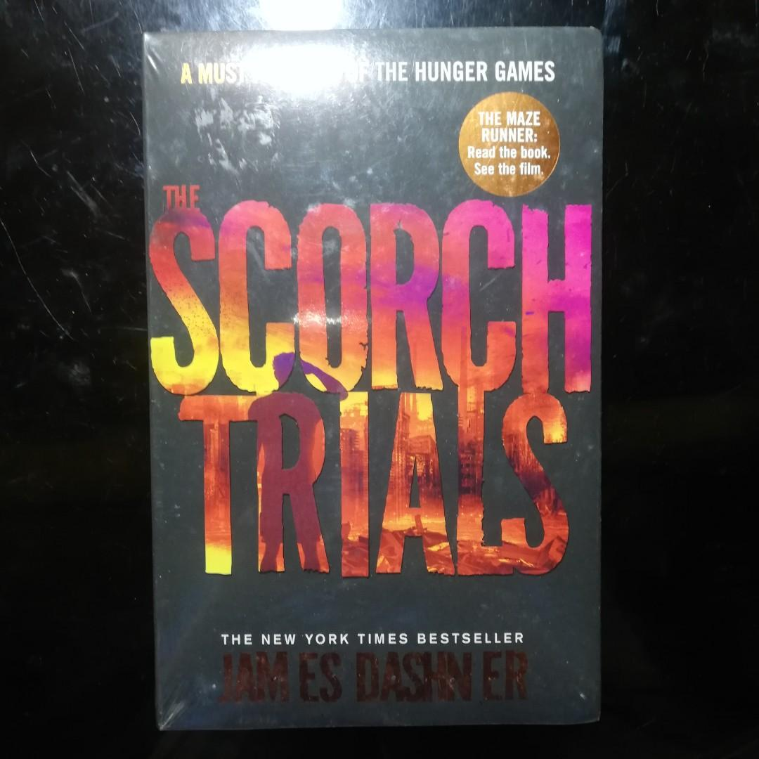 THE SCORCH TRIALS BY JAMES DASHNER (BRAND NEW & SEALED)