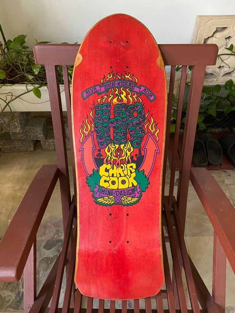 Tony Alva Santa Cruz Skateboard