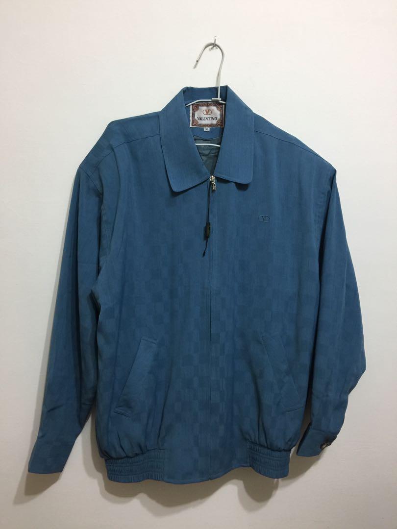 義大利品牌VALENTINO 古著輕薄外套夾克Made in Hong Kong