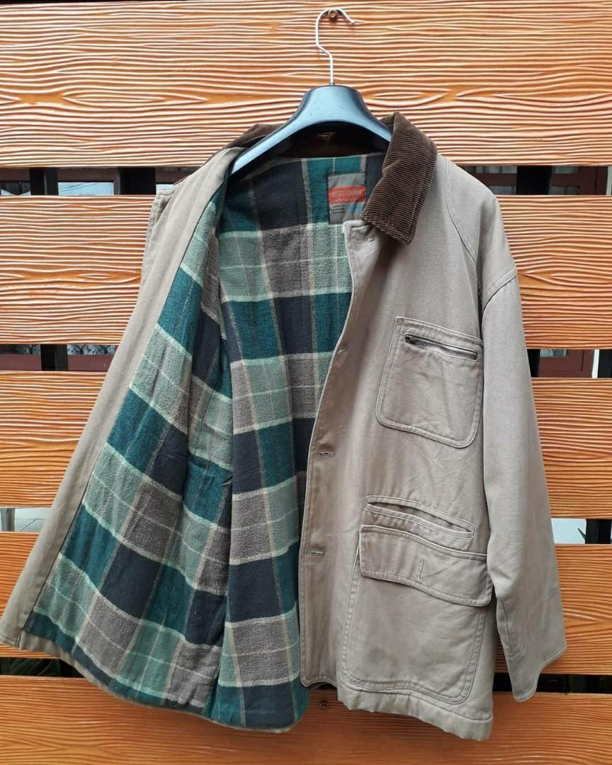Vintage jaket chore denim