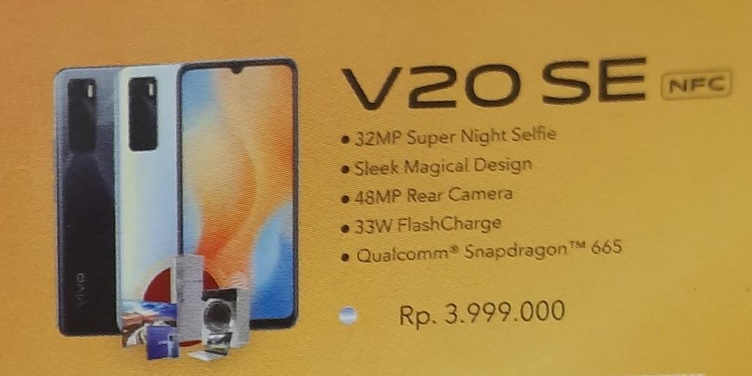 Vivo V20SE Ram 8GB Rom 128GB Bisa Kredit Tanpa Kartu Kredit