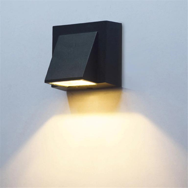 Winlams Lampu LED Dekorasi Rumah Outdoor Waterproof Warm White - Black