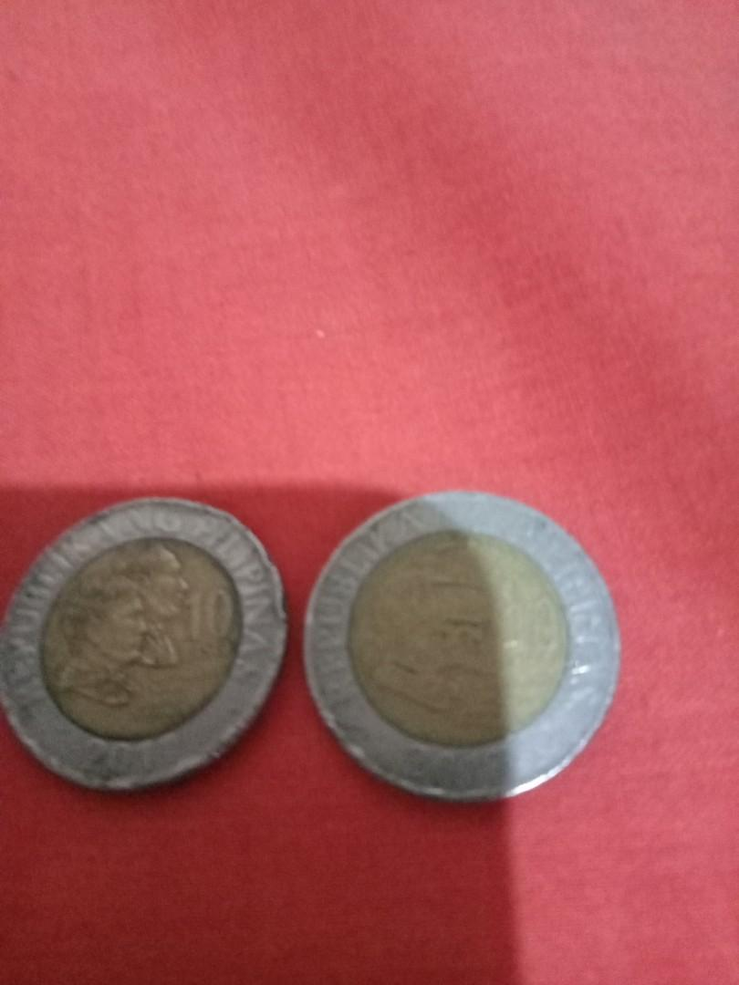 10 Piso Error coin