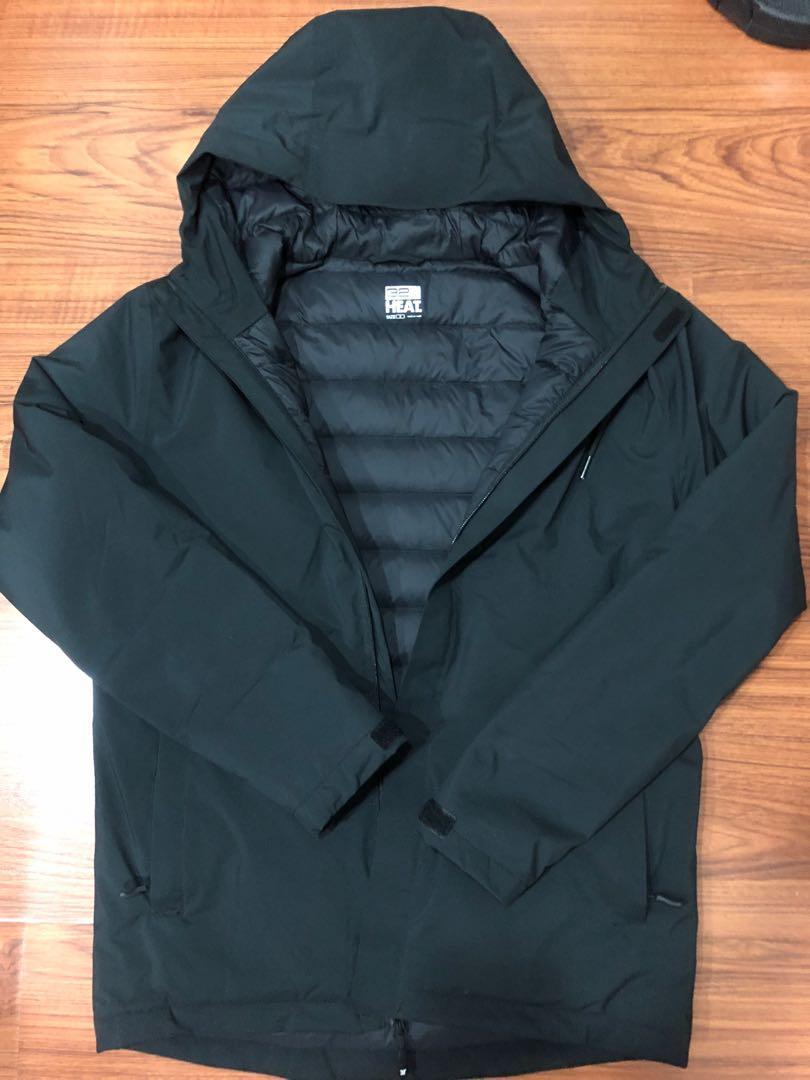 近全新美國好市多購入32度HEAT羽絨連帽外套 保暖度超強 肩寬約47 衣長約68