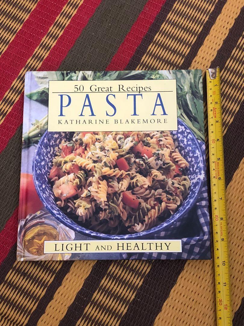 50 Great Pasta Recipes hardcover cookbook