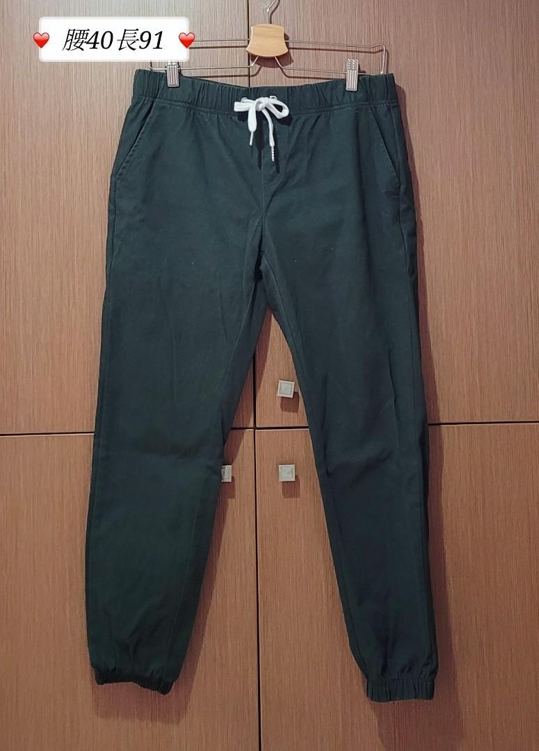 【男】綠色褲子