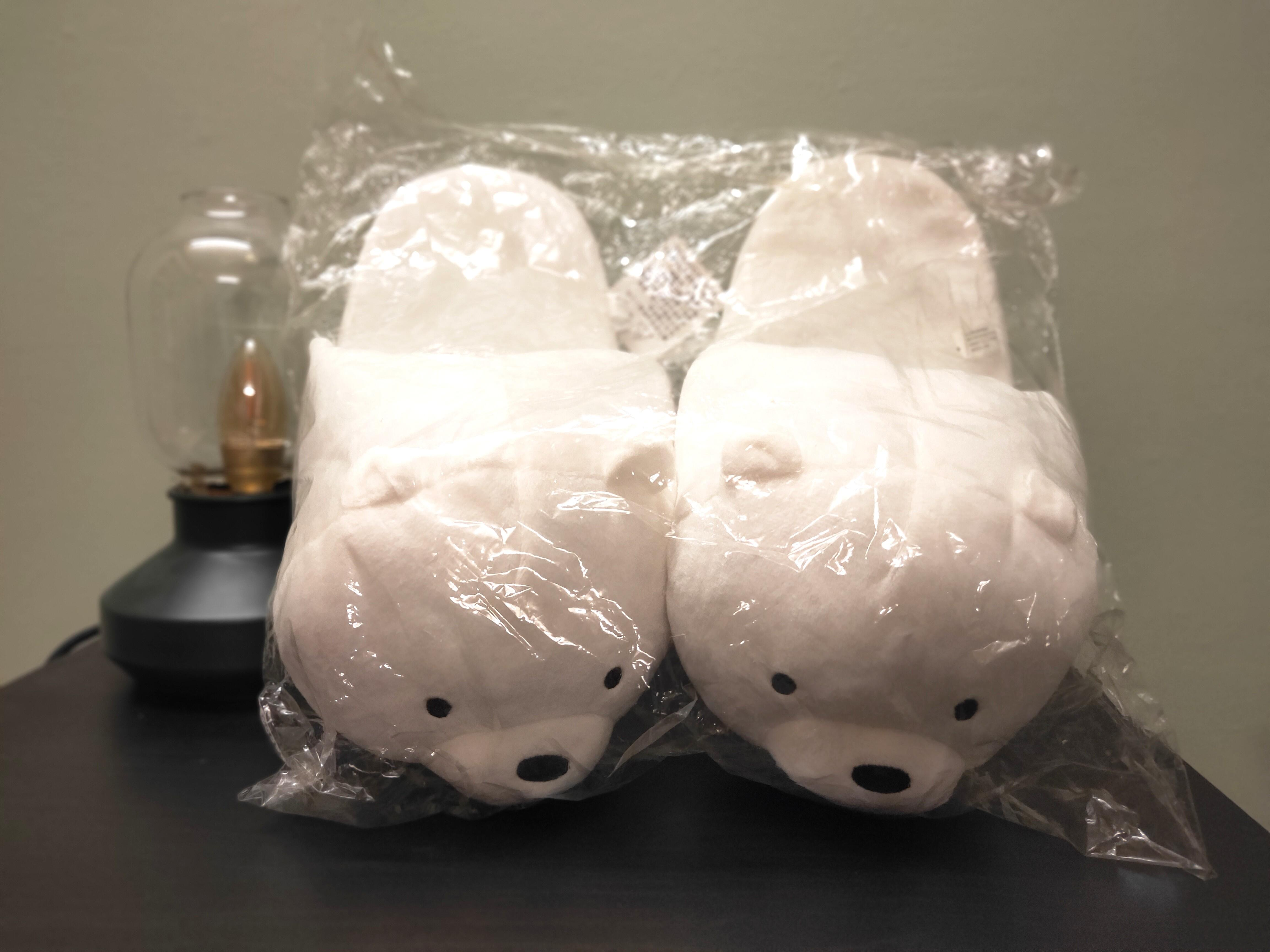 熊熊三劍客-北極熊室內拖鞋