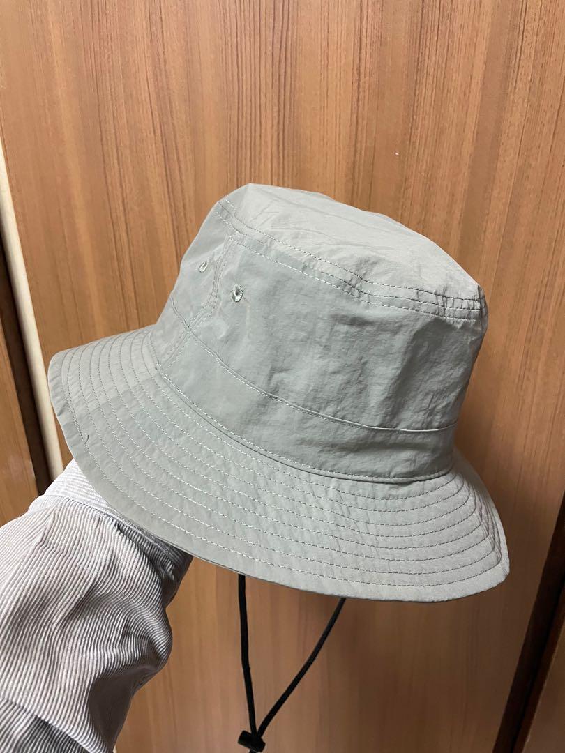 軍綠色抽繩漁夫帽