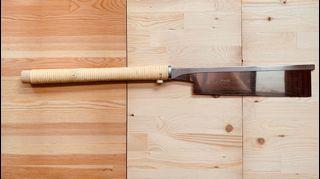 『木工職人入門工具』玉鳥銳司系列 導突鋸-全夾背