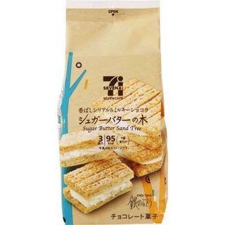 [日本代購]🇯🇵✈️快速出貨🔜 熱銷🔥日本 7-11 Suger Butter Tree砂糖奶油夾心餅乾 日本限定