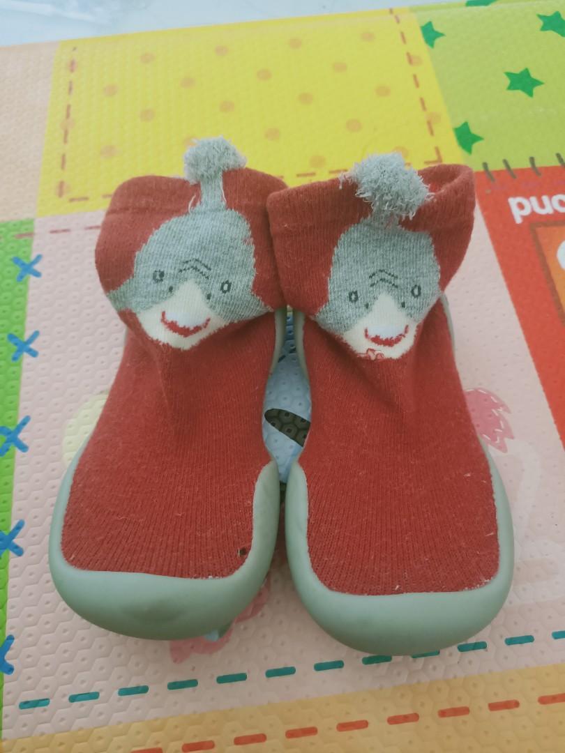二手 寶寶學步鞋 鞋襪 鞋標22-23 平量鞋底14.5cm 建議13~14cm穿(13碼.13.5碼.14碼 可參考)