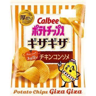 [日本代購]🇯🇵✈️快速出貨🔜 卡樂比 Calbee 厚切洋芋片 最新力作 期間限定 雞汁口味