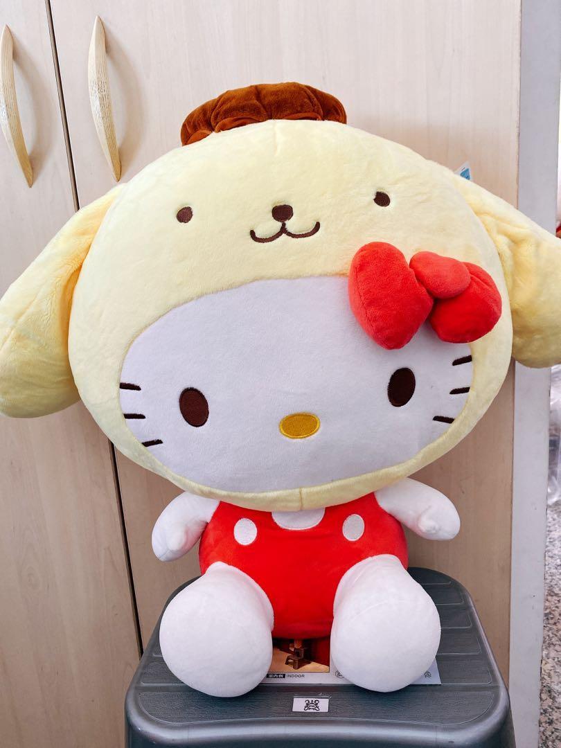 買一送一 三麗鷗kitty變裝娃娃 布丁狗 Hello kitty 20英吋超大娃娃