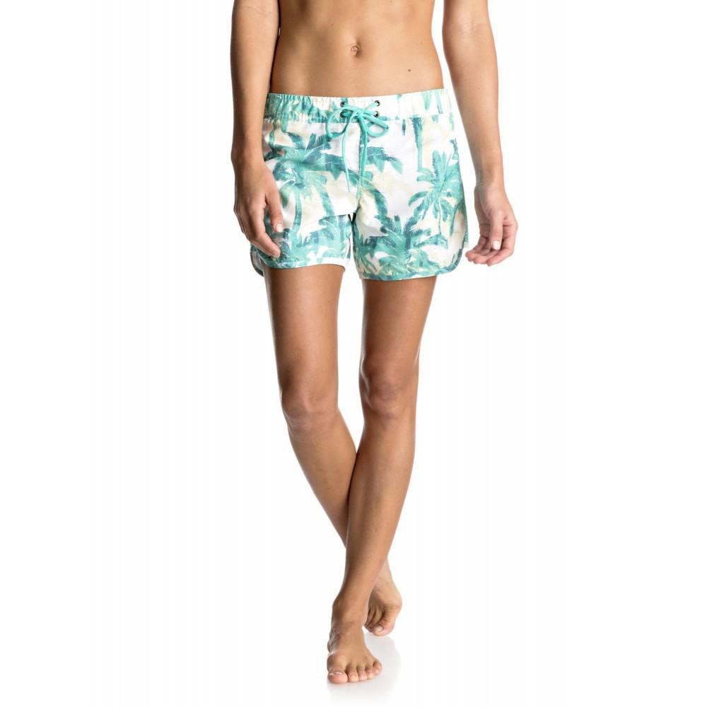 💮現貨特價💮 Roxy棕櫚樹海灘褲 最後一件S 售完斷貨 水陸兩用 短褲 調節 速乾