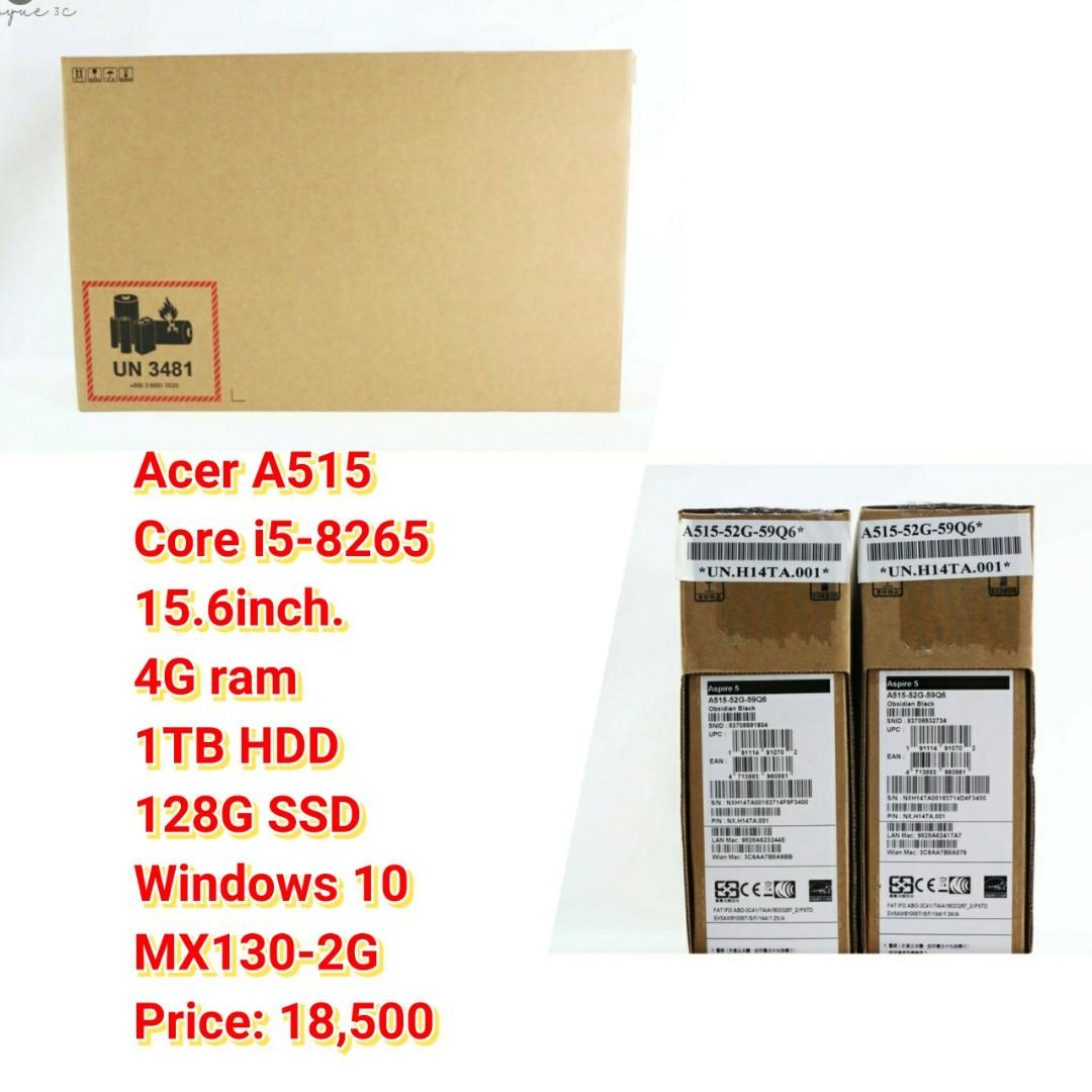 Acer A515 Core i5-8265