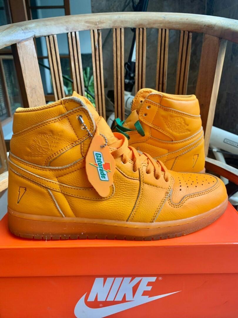Air Jordan 1 high gatorade orange